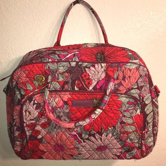 160998aecf Vera Bradley Bohemian Blooms Weekender Bag NWT